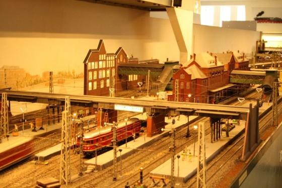 Bahnhof Harburg in Spur 1