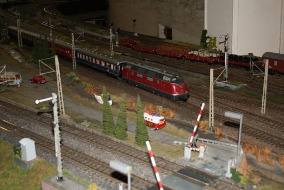 Bahnübergang Spur 1