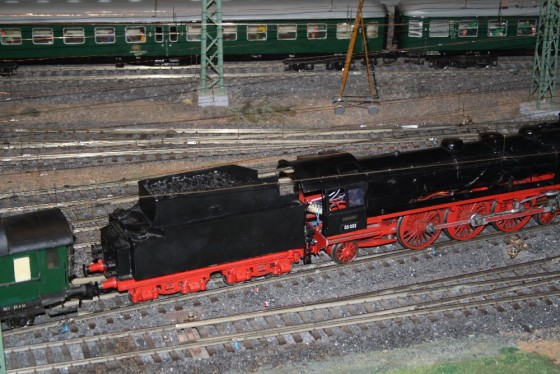 Dampflok BR03 Spur 1 Hamburg