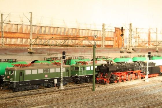 E-Lok BR 140  Spur 1 Hamburg