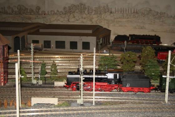 Dampflok BR 24 Spur 1 Hamburg
