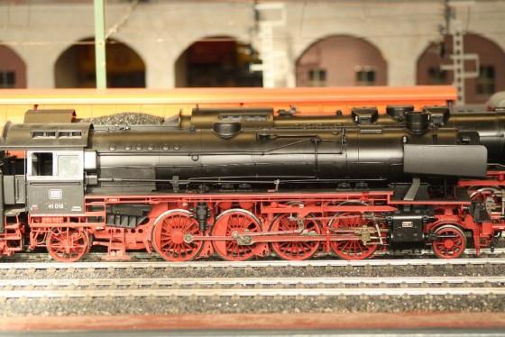 Dampflok BR 41  Spur 1 Hamburg