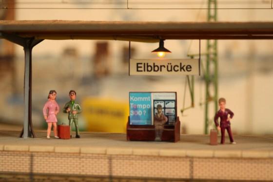 Haltepunkt Elbbrücken Spur 1