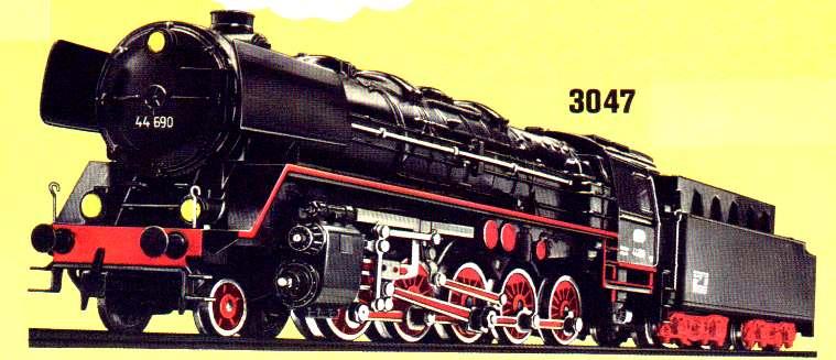 Märklin 3047 Zeichnung