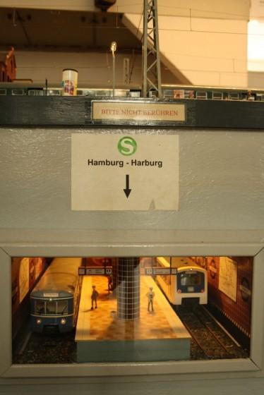 S-Bahn Hamburg-Harburg in Spur 1