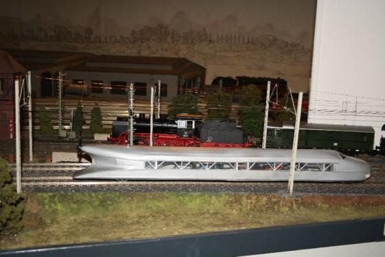 Schienenzeppelin in Spur 1