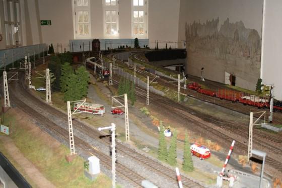 Teilansicht Spur 1 Anlage Hamburg