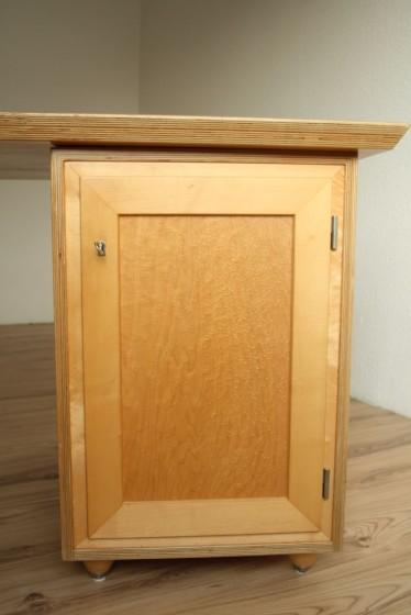 Gesellenstück Schreibtisch Tür