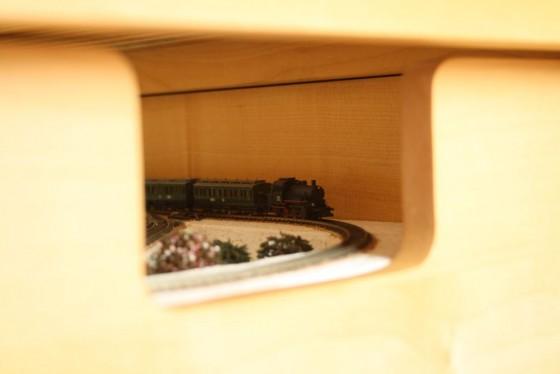 Märklin Eisenbahn in der Schublade