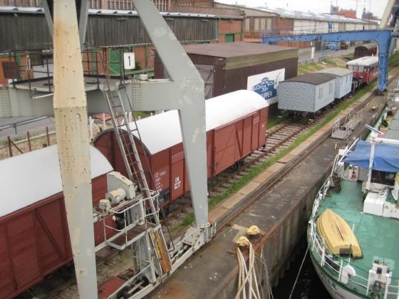 Güterwagen der Hamburger Hafenbahn