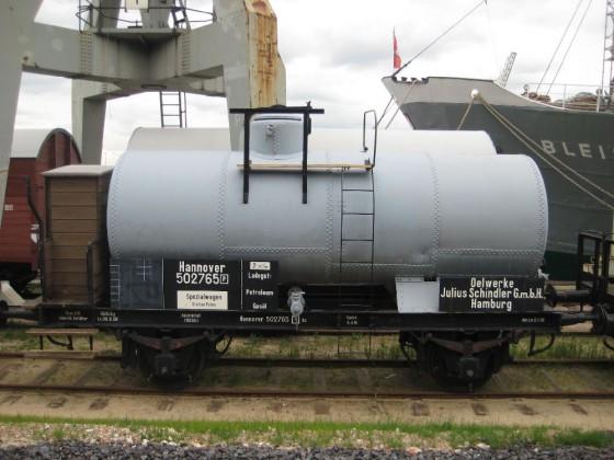 Tankwagen der Hamburger Hafenbahn