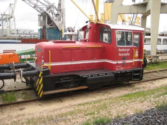 Köf der Hamburger Hafenbahn