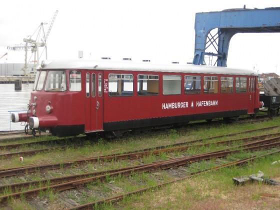 Schienenbus der Hamburger Hafenbahn