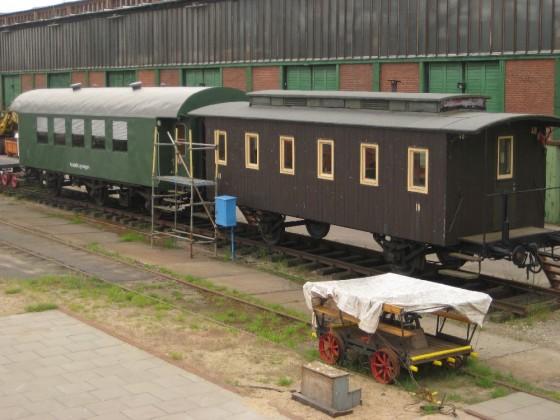 Umbauwagen der Hamburger Hafenbahn