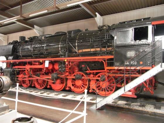 BR 44 im Technikmuseum Sinsheim
