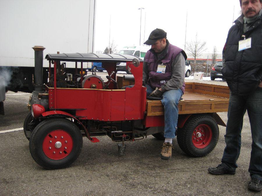Dampflastwagen Echtdampfhallentreffen 2013