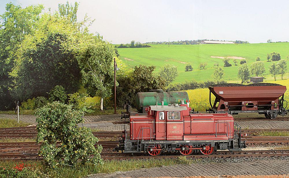 Modellbahn-Hintergrund machen