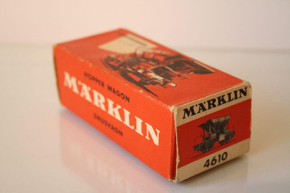 Märklin 4610 Originalkarton Schotterwagen Talbotwagen