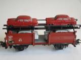 Märklin 4613 Autotransportwagen mit 4 Autos
