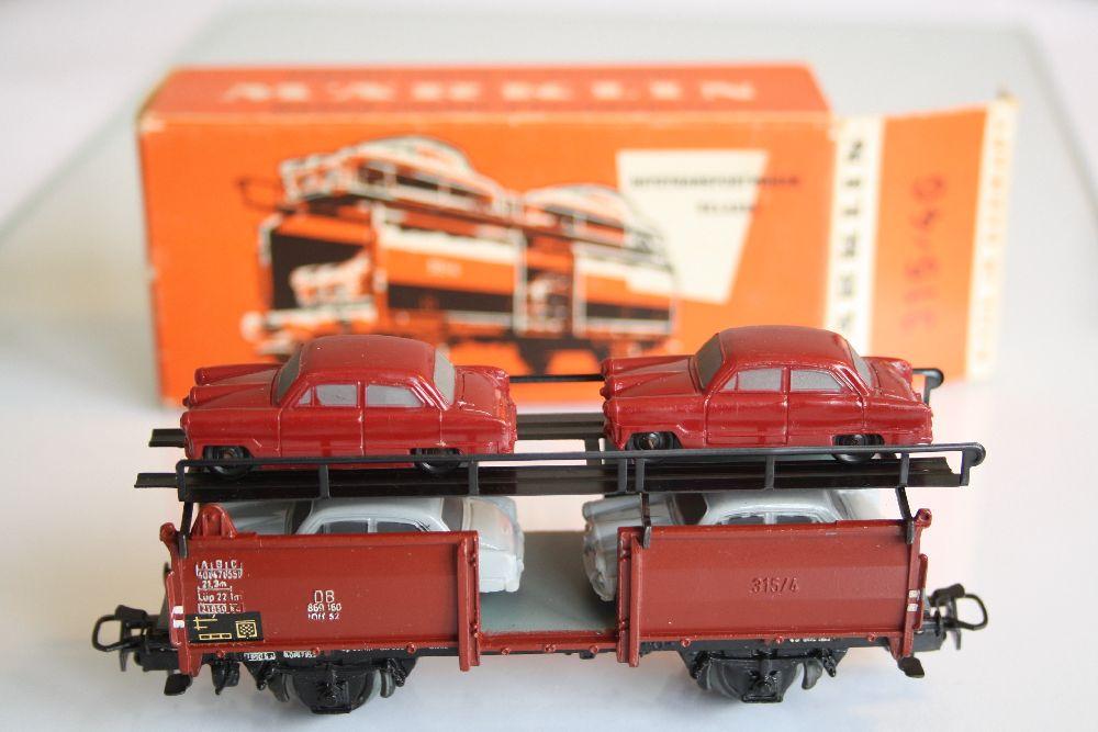 Märklin 4316 OVP Autotransportwagen Ford