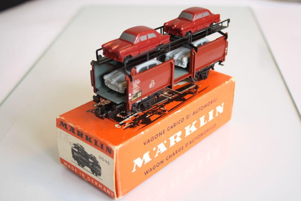Märklin 4316 Originalverpackung Autotransportwagen