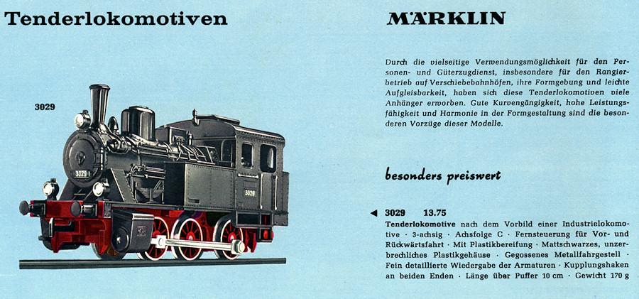 Märklin Katalogbild 3029
