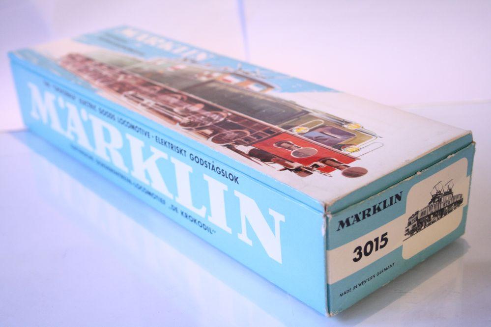 Märklin 3015 Krokodil Originalverpackung