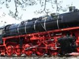 Die Denkmal-Dampflokomotive BR 43 in Emden