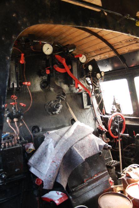 Dampflok BR 043 903-4 Führerstand