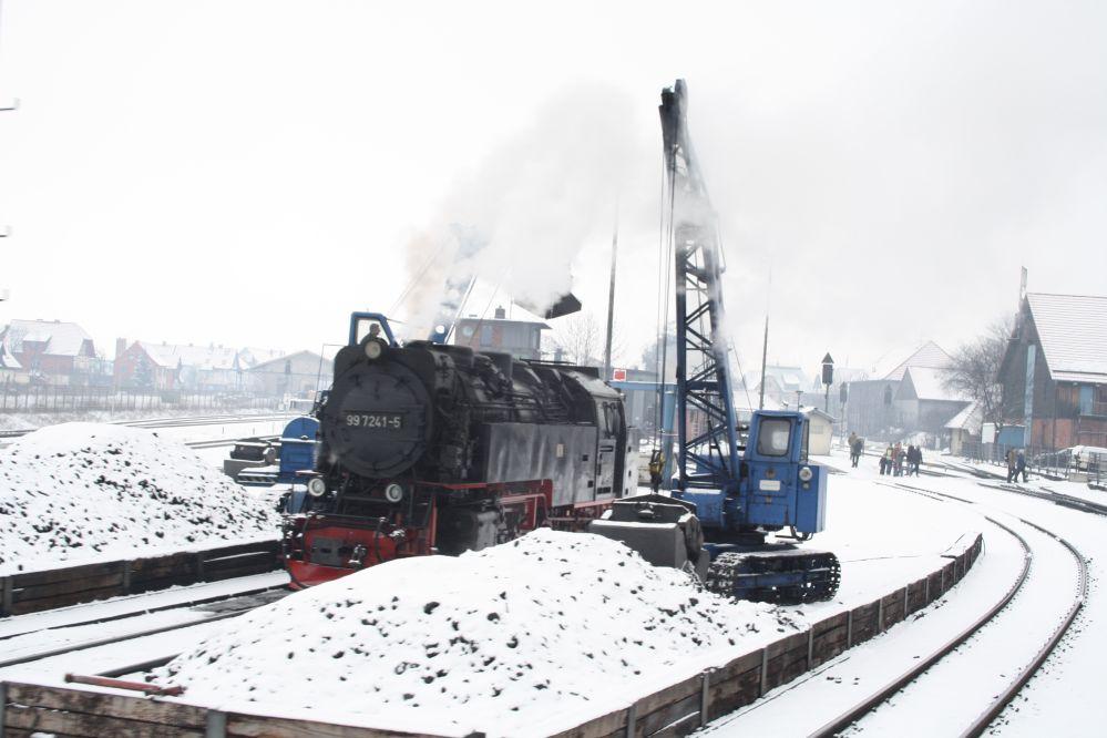 Harzer Schmalspurbahn Brocken Bahnbetriebswerk