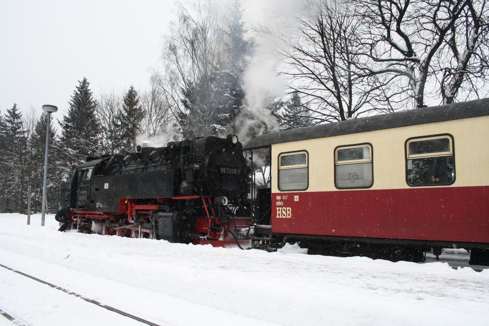 Harzer Schmalspurbahn Brocken 73