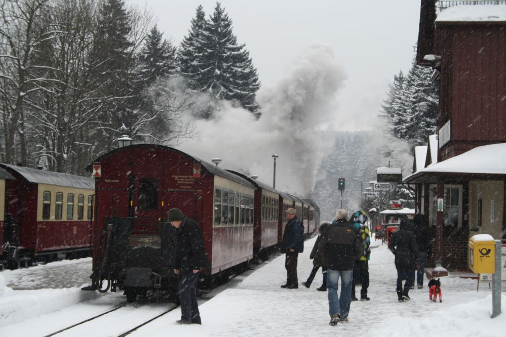Harzer Schmalspurbahn Brocken 74