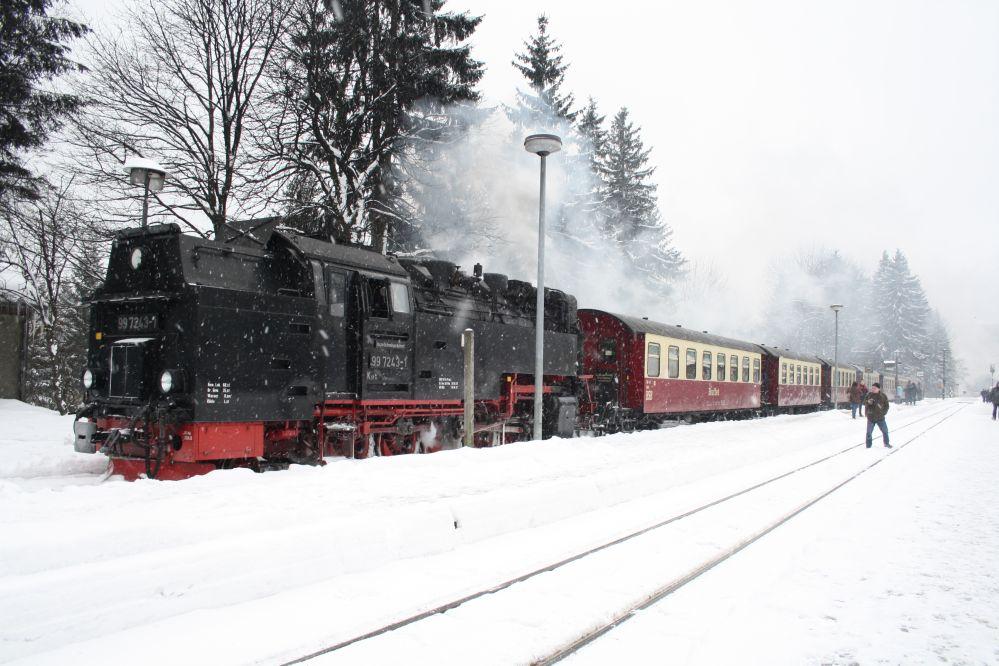 Harzer Schmalspurbahn Brocken 75