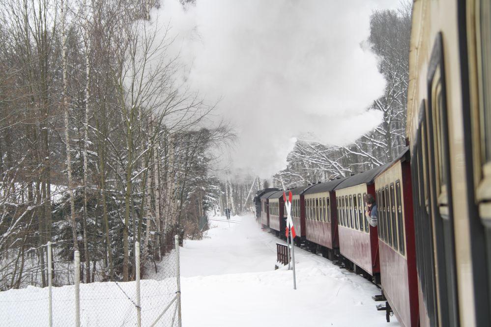 Harzer Schmalspurbahn Brocken Bahnübergang
