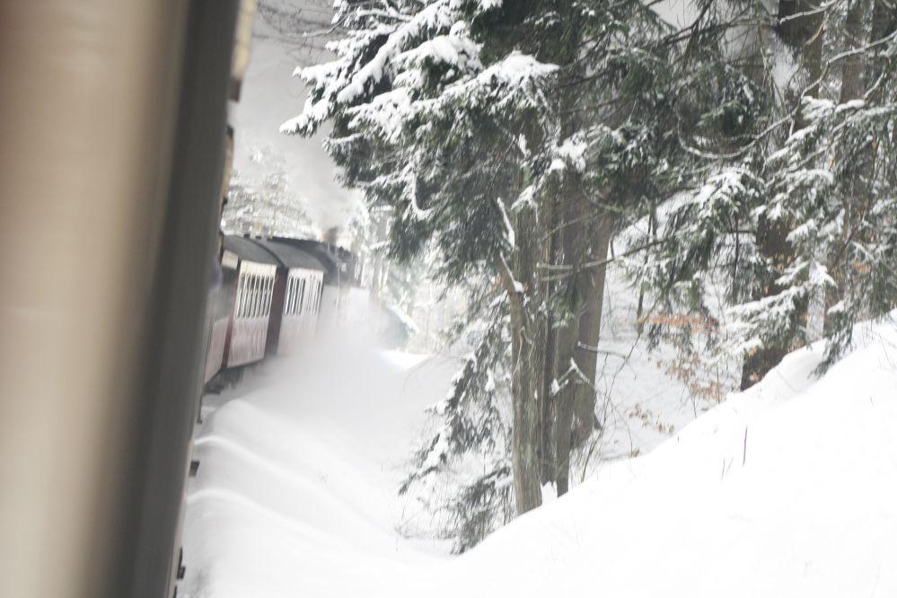 Harzer Schmalspurbahn Brocken Bergfahrt