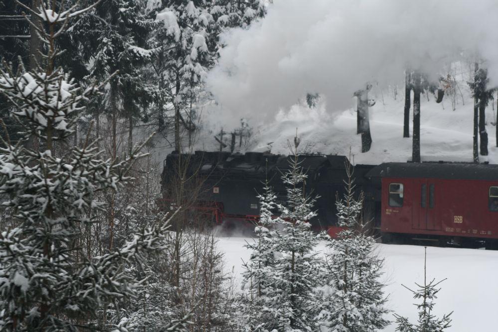 Harzer Schmalspurbahn Brocken Dampflok