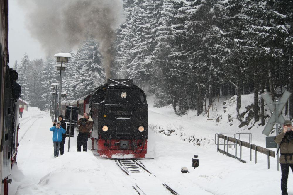 Harzer Schmalspurbahn Brocken Gegenzug