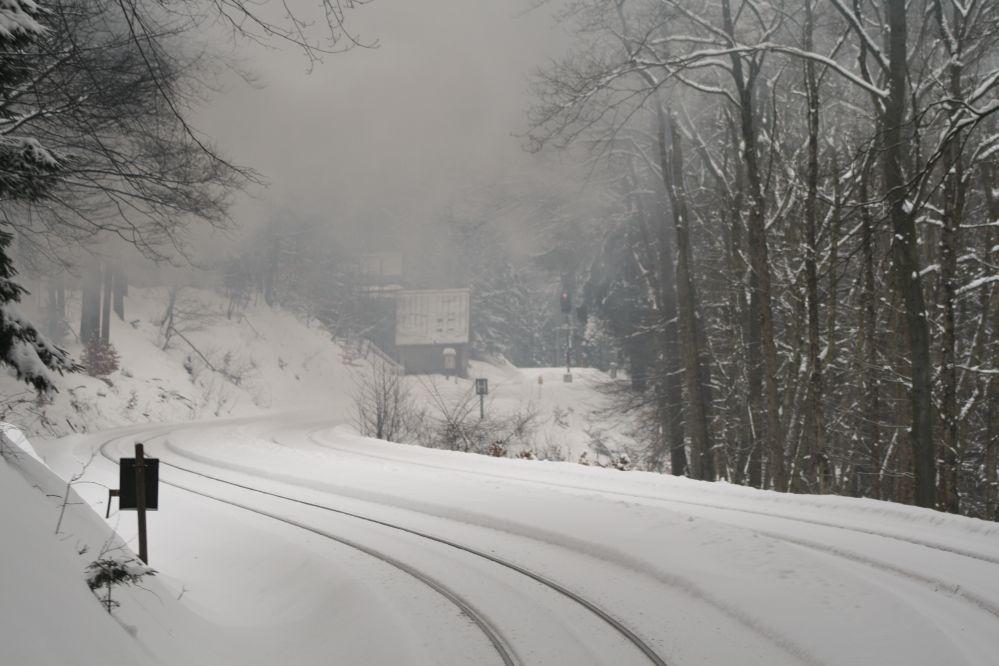 Harzer Schmalspurbahn Brocken Gleisschilder