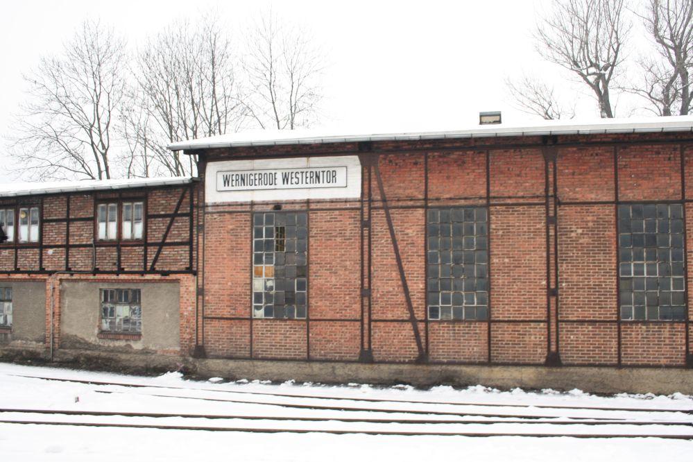 Harzer Schmalspurbahn Brocken Lockschuppen