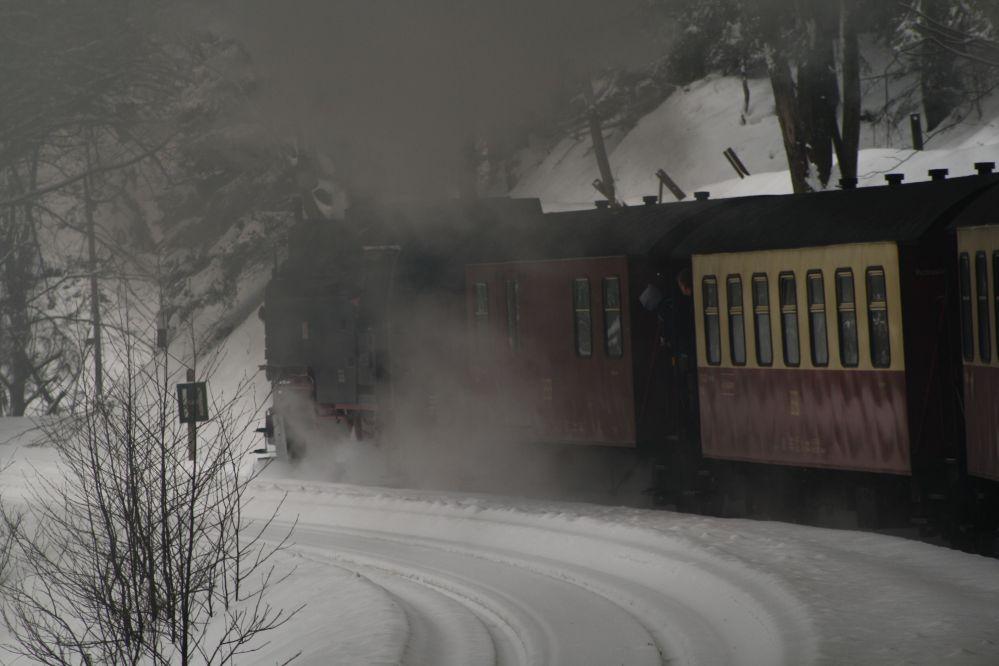 Harzer Schmalspurbahn Brocken Rauch