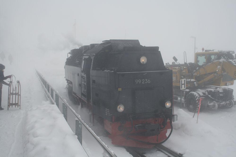 Harzer Schmalspurbahn Brocken Schienenbagger