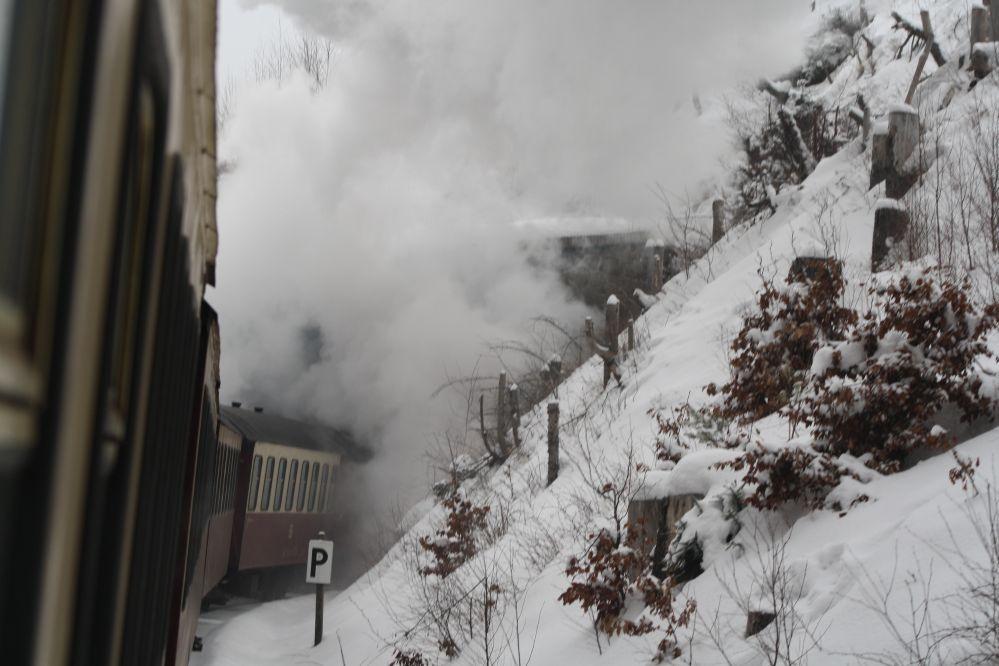 Harzer Schmalspurbahn Brocken Tunnel