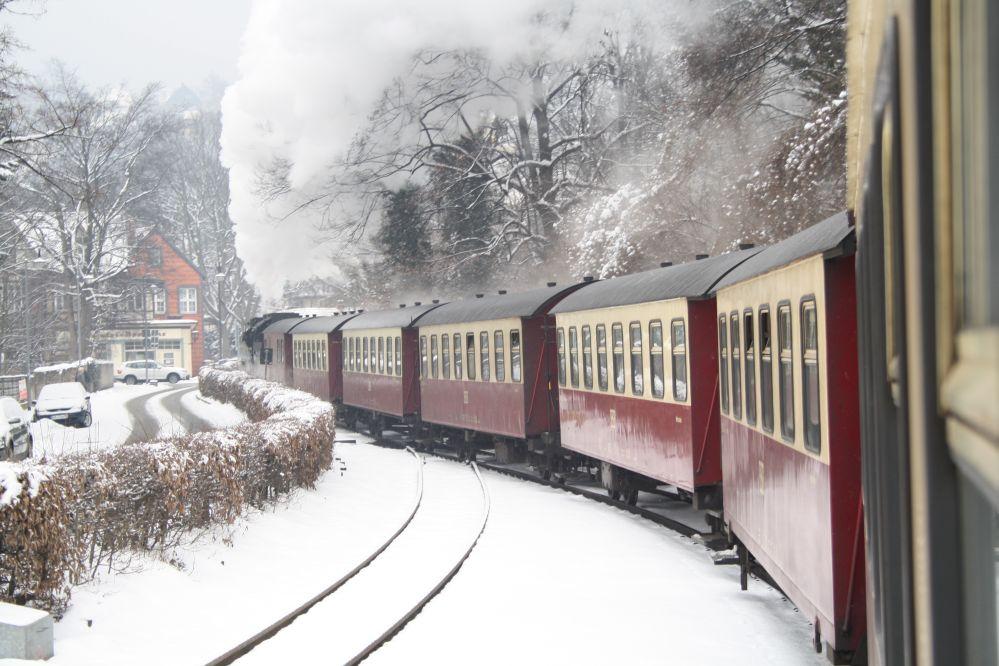 Harzer Schmalspurbahn Brocken Volldampf