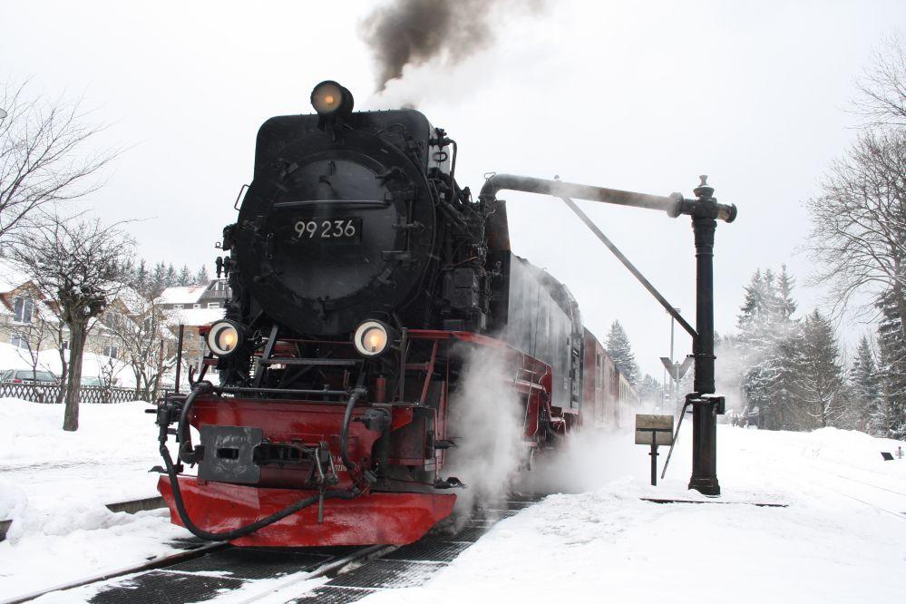 Harzer Schmalspurbahn Brocken Wasserkran