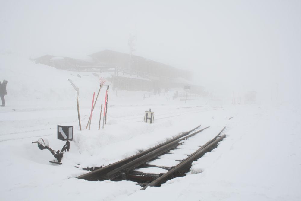 Harzer Schmalspurbahn Brocken Weiche