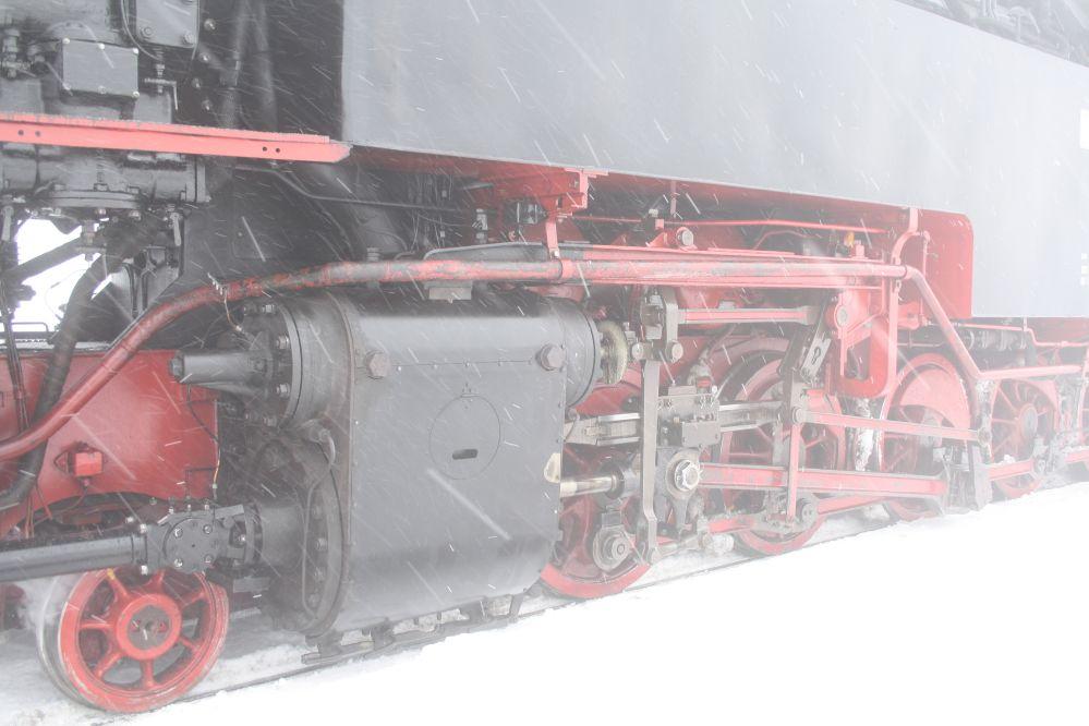 Harzer Schmalspurbahn Brocken Zylinder