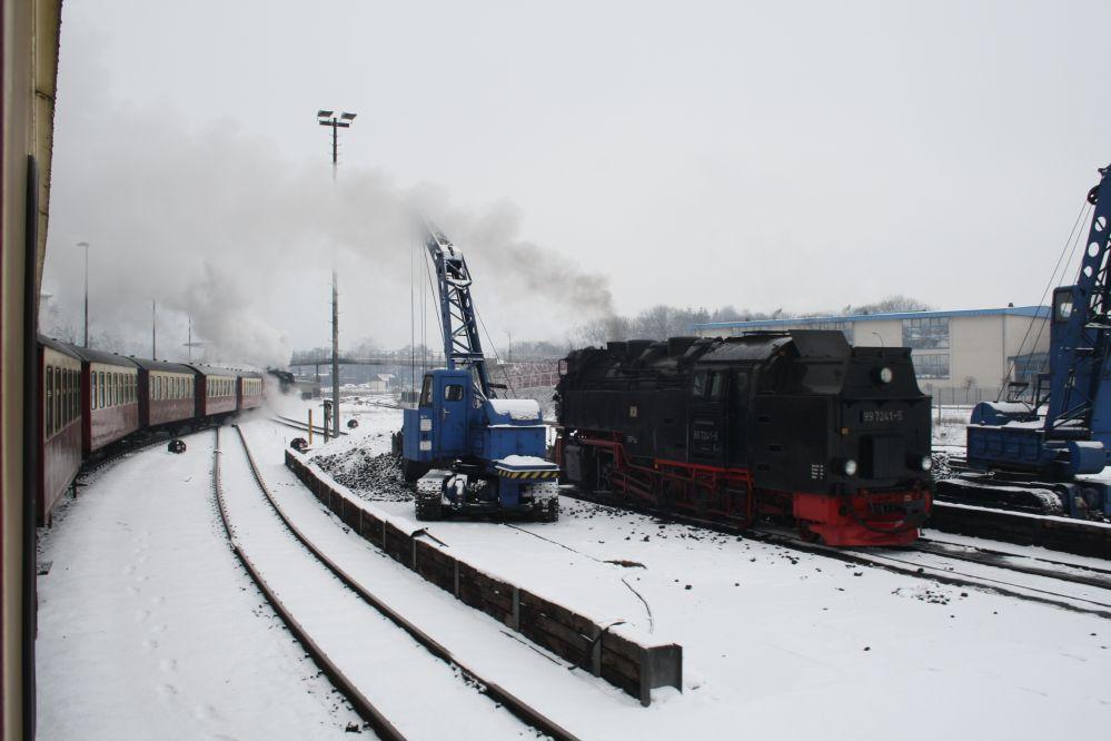 Harzer Schmalspurbahn Brocken Dampfeisenbahn