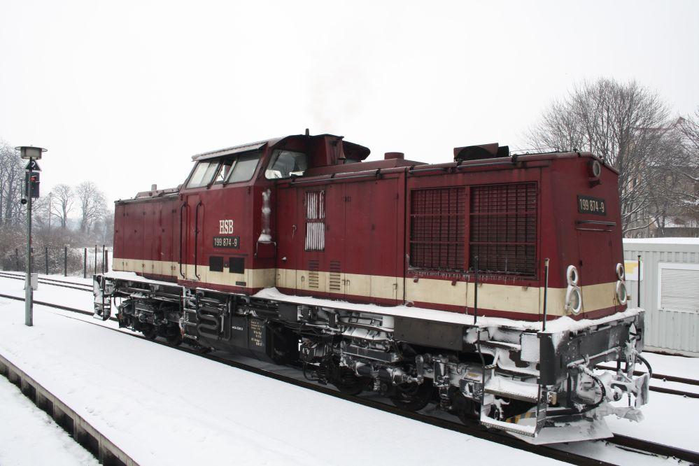 Harzer Schmalspurbahn Brocken Diesellok