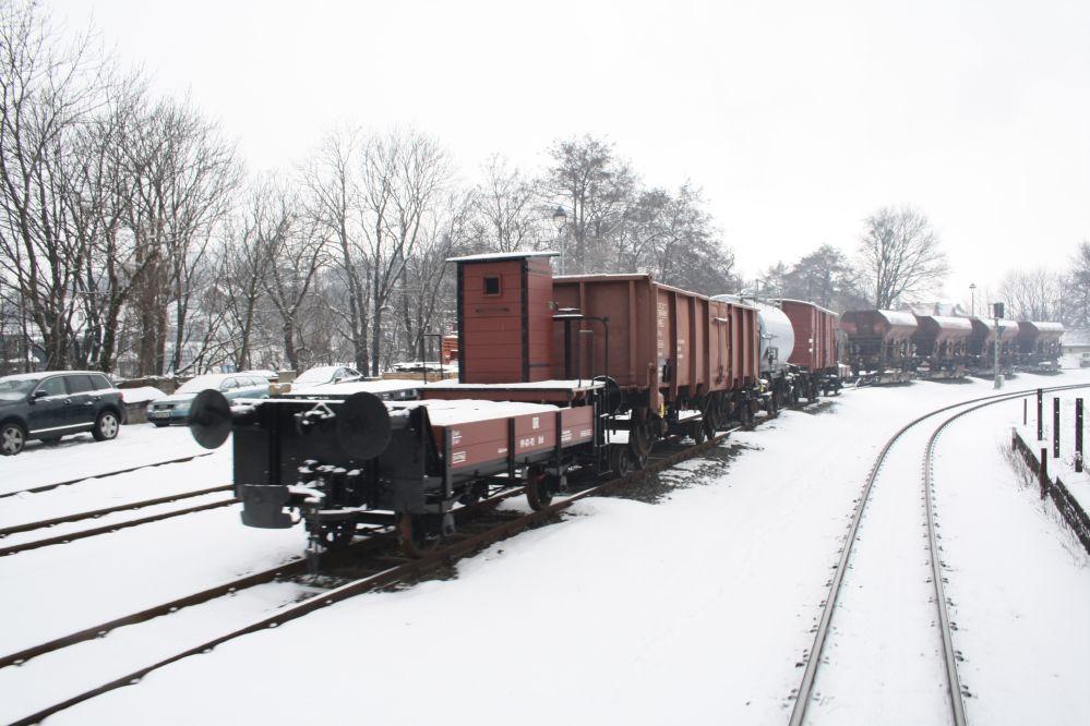 Harzer Schmalspurbahn Brocken Güterzug