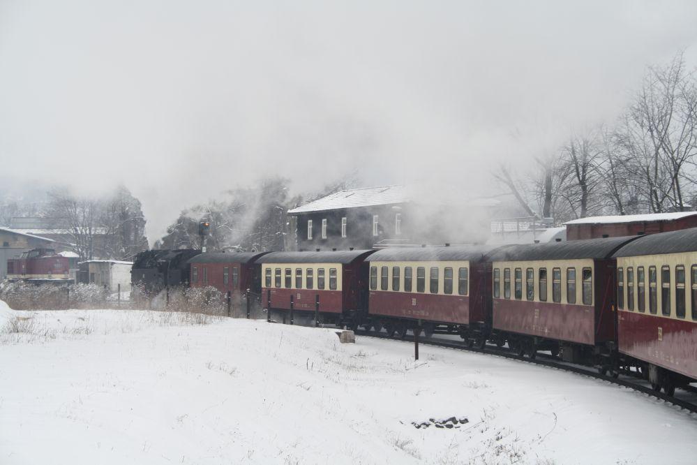 Harzer Schmalspurbahn Brocken Personenzug